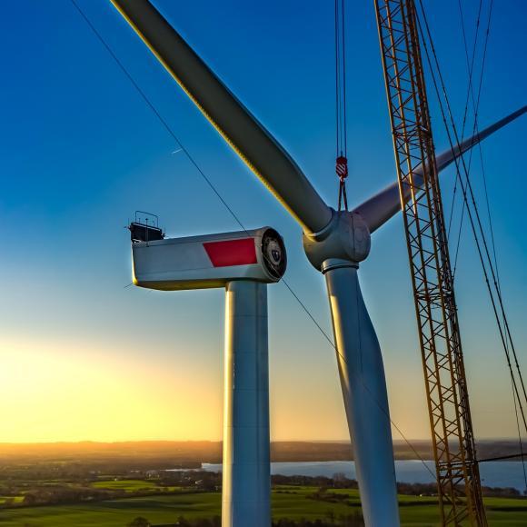 Repowering von Windparks