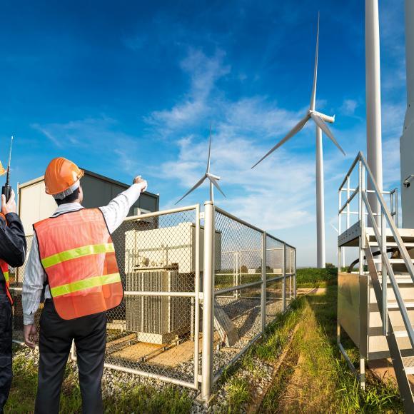 Technisches Management von Windparks