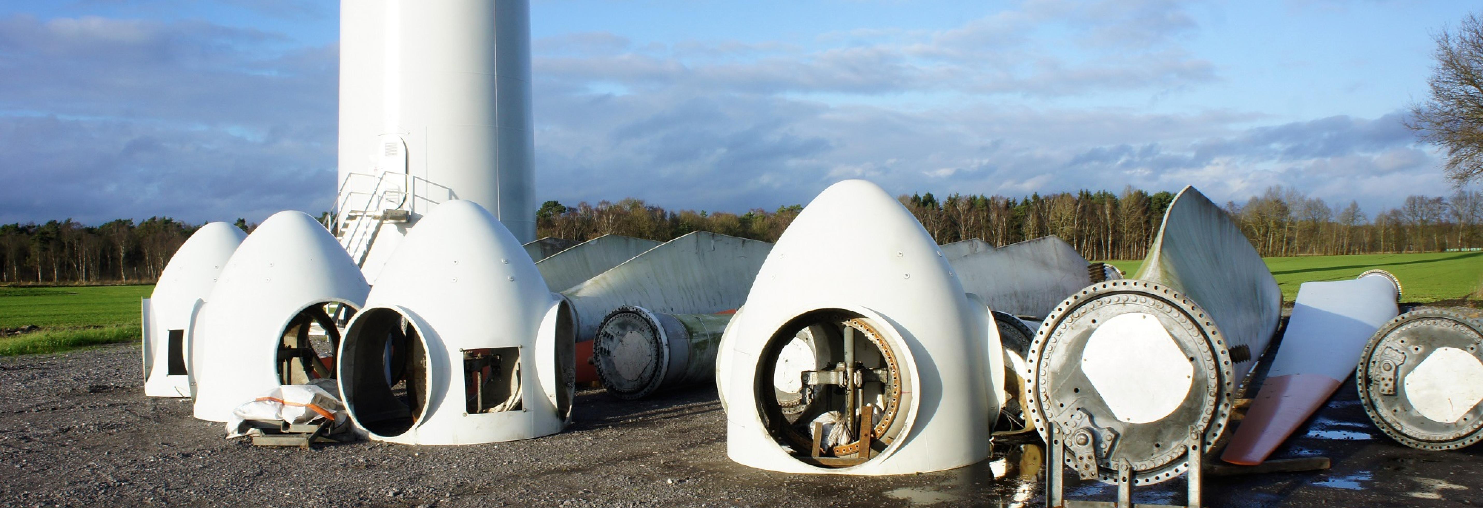 Rückbau, Verwertung und Recycling von WEA