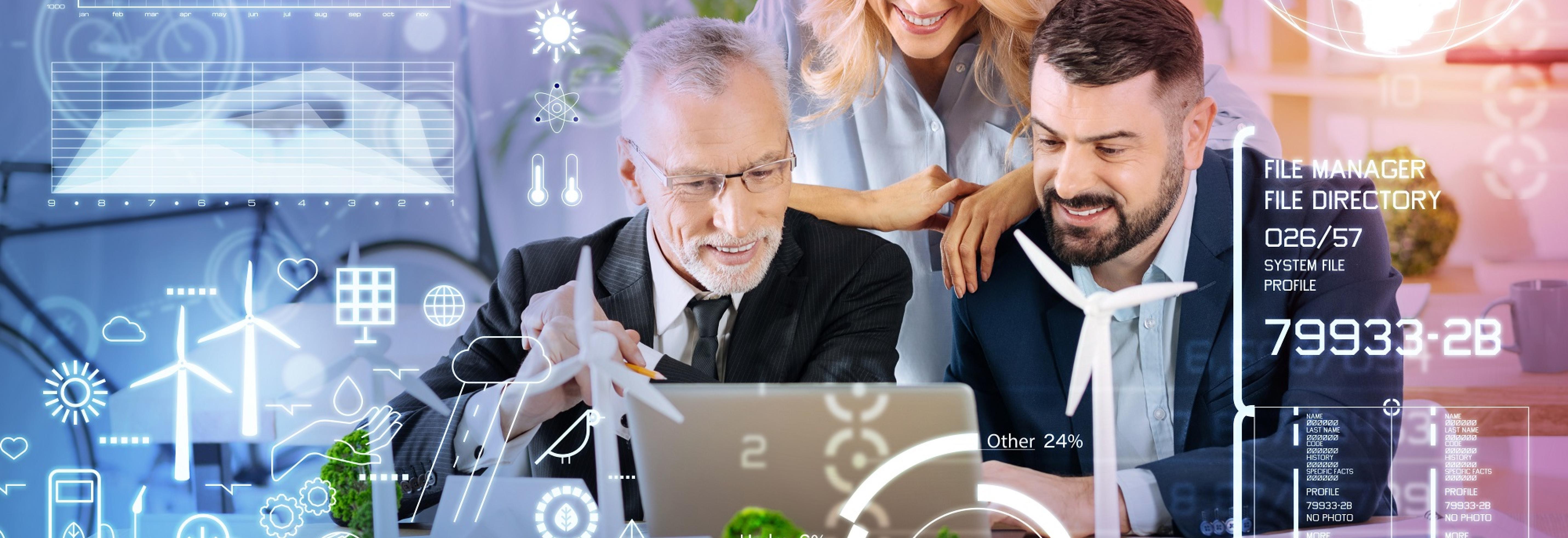 Digitalisierung, Service und Betriebsführung
